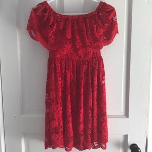 Francesca's Little Red Dress